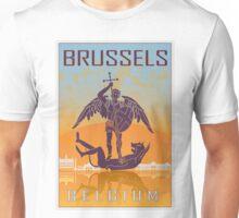 Brussels vintage poster Unisex T-Shirt