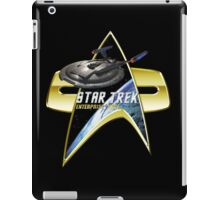 StarTrek Enterprise NX01 Com badge iPad Case/Skin