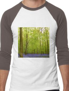 Awesome blubell wood Men's Baseball ¾ T-Shirt