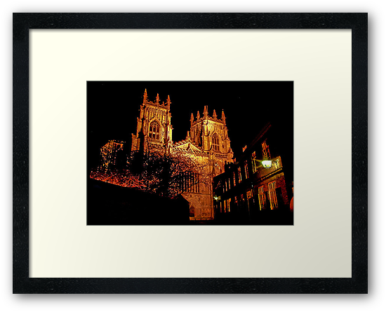 York Minster by Light by Trevor Kersley