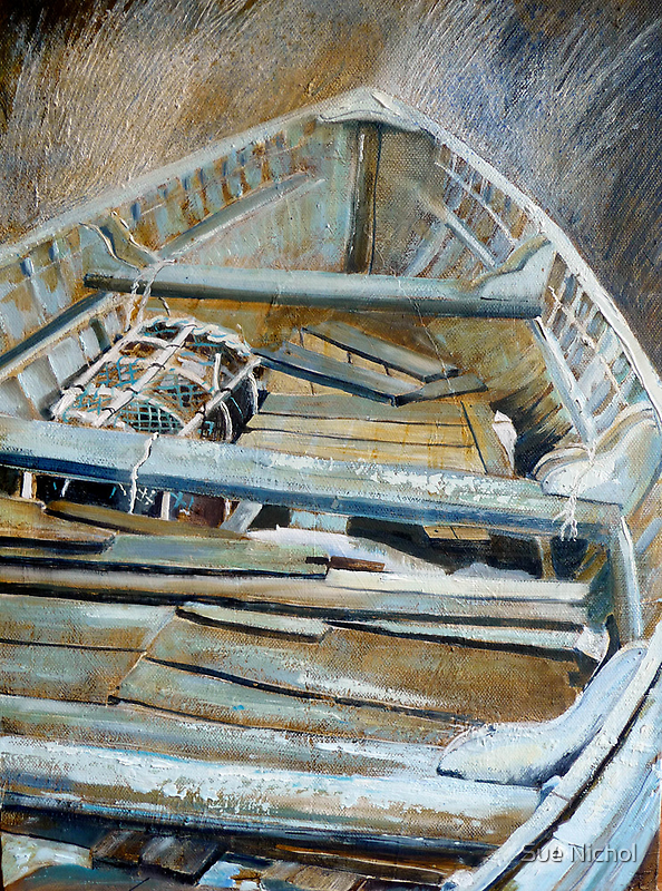 Boat Interior by Sue Nichol