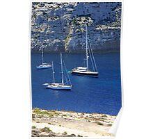 Mediterranean Paradise 4 - Gozo Bay Poster