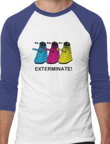 Doctor Who - Exterminate! Men's Baseball ¾ T-Shirt