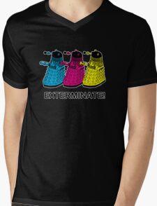 Doctor Who - Exterminate! Mens V-Neck T-Shirt