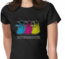 Doctor Who - Exterminate! Womens Fitted T-Shirt