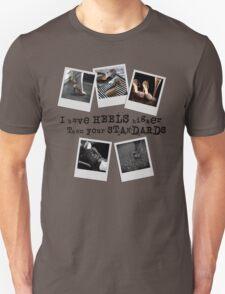 Standards in Heels Unisex T-Shirt