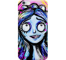 Bright and Colorful Corpse Bride iPhone Case/Skin