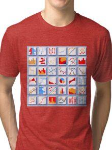 Stats Element Set in Various Colors Tri-blend T-Shirt