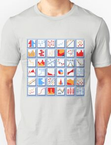Stats Element Set in Various Colors T-Shirt