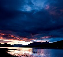 Sunset Storm Fort William Scotland UK by MiImages
