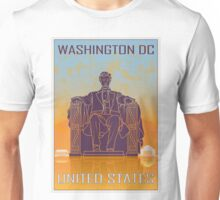 Washington DC vintage poster Unisex T-Shirt