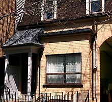 Victorian Row House 1886 by LeftHandPrints