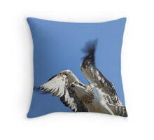 Bella's Flying Throw Pillow
