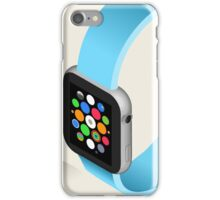 Isometric Smart Watch in Six Colors iPhone Case/Skin