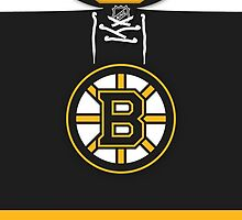 Boston Bruins Home Jersey by Russ Jericho