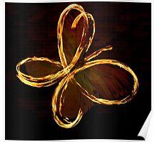 Papillon Ember Poster