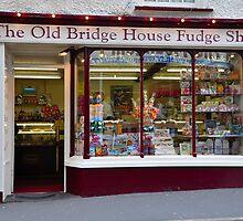 The Old Bridge House Fudge Shop by davyrabbit