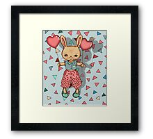 SomeBunny Loves You Framed Print