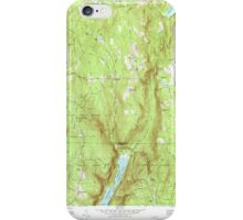 Massachusetts  USGS Historical Topo Map MA West Granville 350700 1971 24000 iPhone Case/Skin