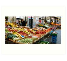 Market day ! Art Print