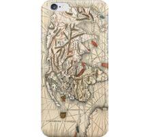 1513 World map by Martin Waldseemüller iPhone Case/Skin