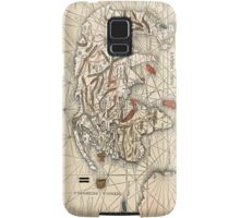 1513 World map by Martin Waldseemüller Samsung Galaxy Case/Skin