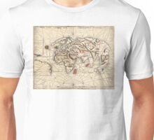 1513 World map by Martin Waldseemüller Unisex T-Shirt