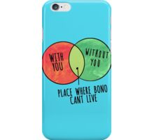 Bono place iPhone Case/Skin