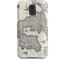 1631 Map of the British Isles by Joan Blaeu Samsung Galaxy Case/Skin