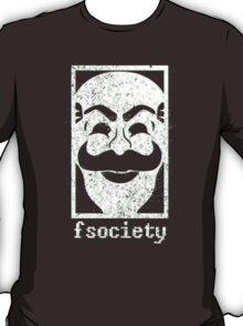 F Society (Mr. Robot) T-Shirt