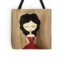 red princess Tote Bag