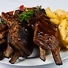 Char-Grilled Ribs-Lamb by Jojie Certeza