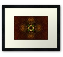 Ancient Times In The Past Framed Print