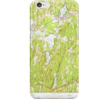 Massachusetts  USGS Historical Topo Map MA East Brookfield 350104 1954 24000 iPhone Case/Skin