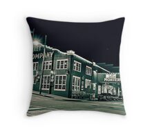 street 10 Throw Pillow