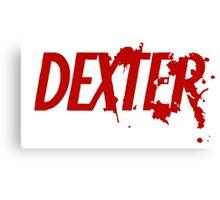 Dexter logo Canvas Print