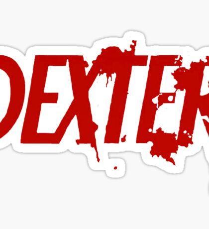 Dexter logo Sticker