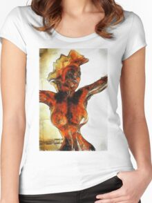 All Woman by Mary Bassett Women's Fitted Scoop T-Shirt