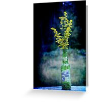 Rolling Rock - We will rock on Greeting Card
