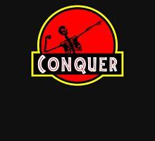 Conquer Arnold Jurassic Predator Gym Unisex T-Shirt