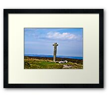 Ralphs Cross - North Yorks Moors Framed Print