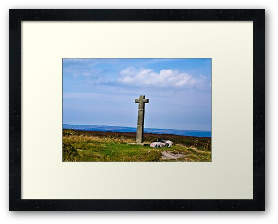 Ralphs Cross - North Yorks Moors by Trevor Kersley