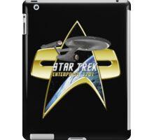 StarTrek Enterprise 1701 Com badge iPad Case/Skin