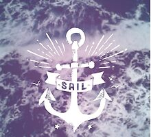Sail // Vintage Anchor by hocapontas