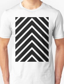 Black Blue Chevron T-Shirt