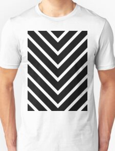 Black Green Chevron T-Shirt