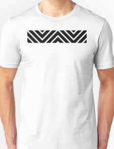 Black Red Chevron T-Shirt