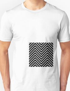 Black Orange Chevron T-Shirt