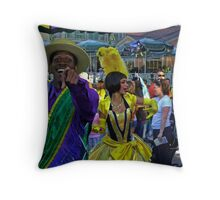 Christmas Season - New Orleans Style! Throw Pillow