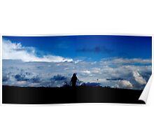Cloudwalking - Spey Bay, Moray, Scotland Poster